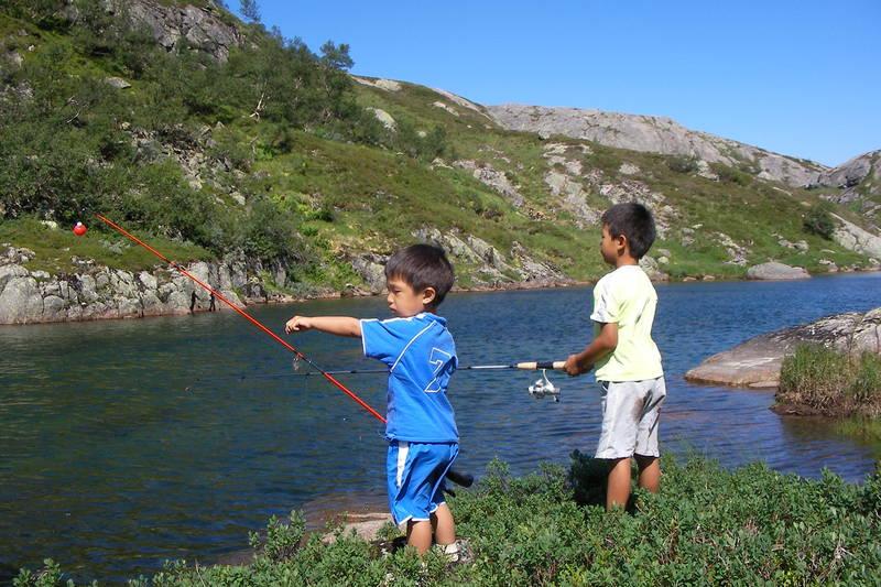 Fisketur ved Nilsebu