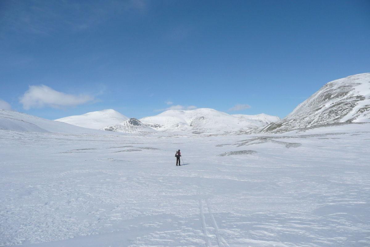 Skitur i Rondane nasjonalpark