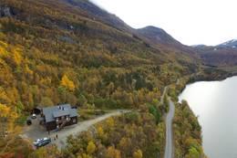 Kaldhusseter sett fra lufta - Foto: Øyvind Hunnes