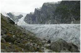 Bretunge av Jostedalsbreen - Foto: Sune Eriksen