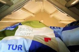 Drøm søtt på hemsen på Lille - Foto: Jan Ove Brenden