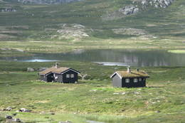 Helberghytta med sikringsbu  -  Foto: Line Håkensen