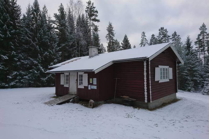 Hovedbygningen på Slettmoen