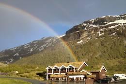 Hotellbygget ved Østerbø Fjellstove - Foto: Østerbø Fjellstove