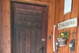 Velkommen til Storlisetra - Foto: KNT