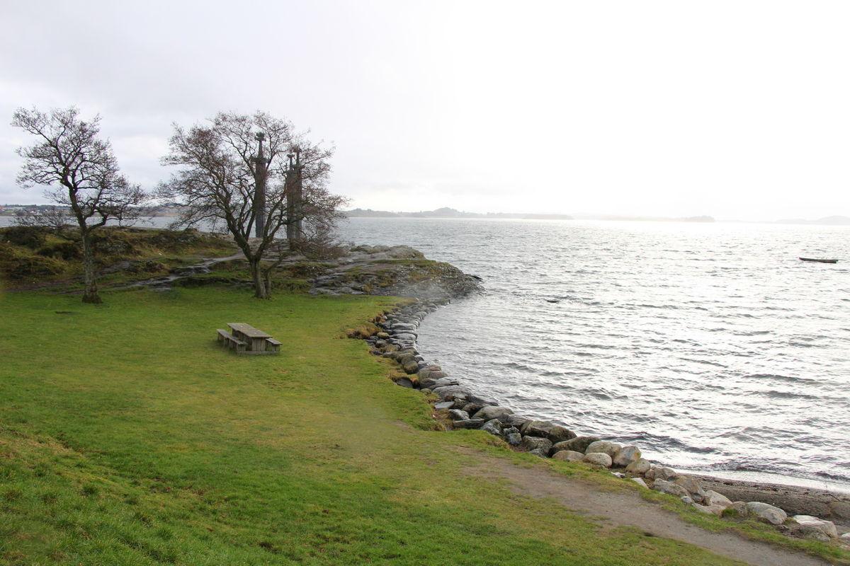 Fra Møllebukta i Hafrsfjord