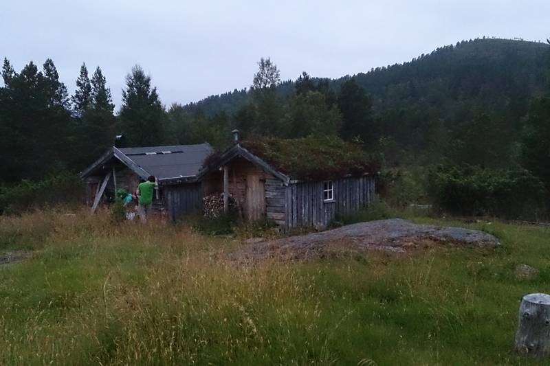 Gamle seterbuer ved Karlsnessetra - Foto: Martin Hanssen