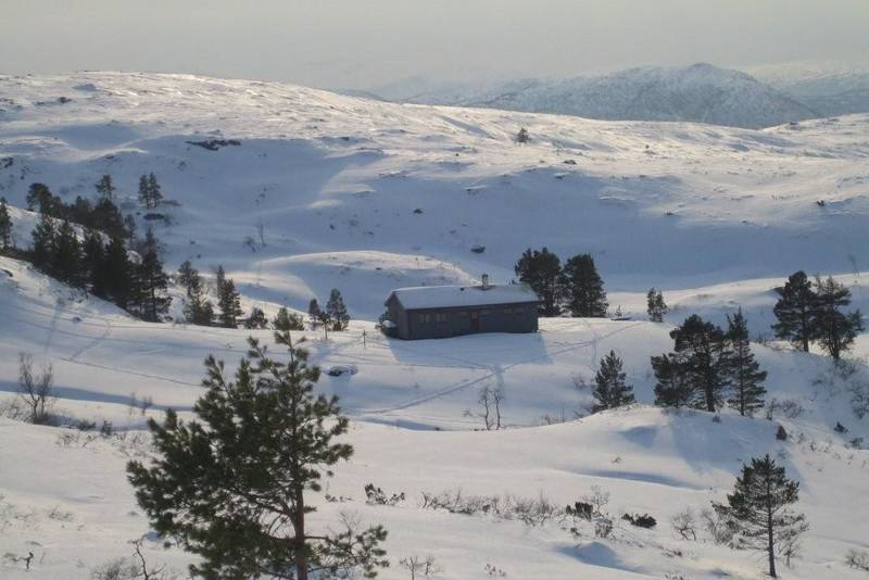 Skiterrenget rundt Jutulbu er fint