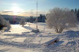 Vinterstemning ved Rønningen - Foto: Tore Paulsen
