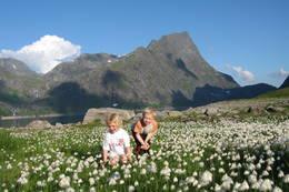 Idyll ved Tyssenaustet - Foto: Bjørg Astrid Rørstad