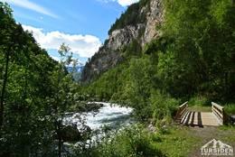 Junkerdalsura i Saltdal - Foto: Tursiden for Bodø og Salten