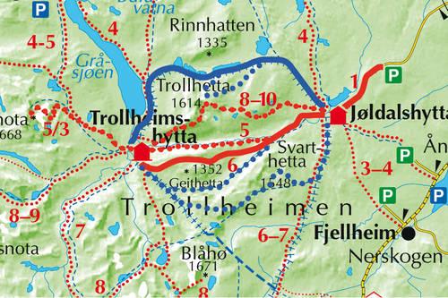 jøldalshytta kart Jøldalshytta   Trollheimshytta   Tur   UT.no jøldalshytta kart