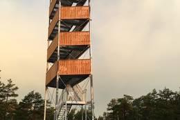 Utsiktstårnet - Foto: Turperler - Linken Raeng