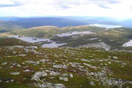Utsikt mot Sigridsbu - Foto: Maiva Fjeldskår