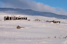 Grimsdalshytta, vinter - Foto: Geir Lyftingsmoe