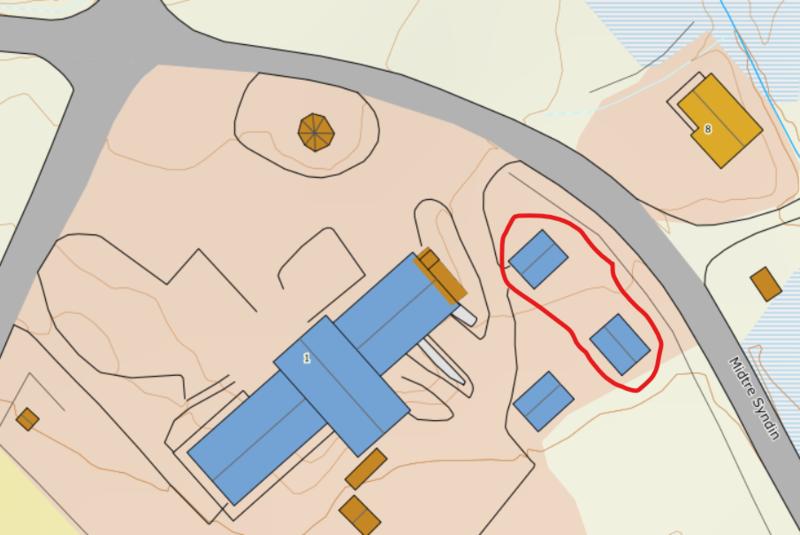 Situasjonsplan DNT-hytter