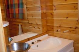 Vaskerom med utslagsvask. - Foto: Tone Føreland