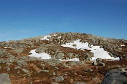 Toppen på Ulserhaug i siktet - Foto: Roald Årvik