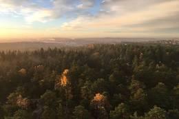 Utsikt fra tårnet - Foto: Turperler - Linken Raeng