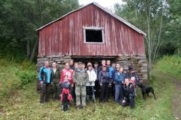 Flott utløe. Dette fra ordførertur i 2012 med Troms Turlag og Ishavskysten Friluftsråd -  Foto: Kirsten Buck Rustad