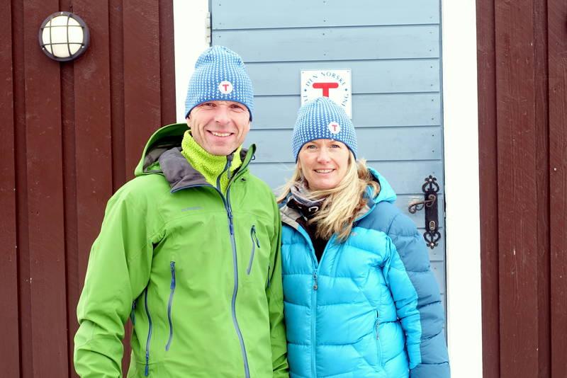 Jon og Marit ønsker velkommen til Geiterygghytta!