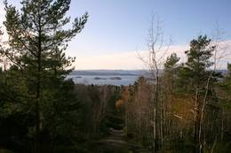 Stilig utsikt fra toppen av Brannfjell -  Foto: Nina Khalayli