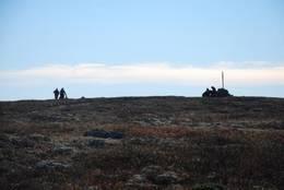 på Tuva, Ringsakers høystes topp - Foto: Margrete Ruud Skjeseth