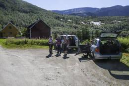 På snuplassen i Mørsry -  Foto: Kjell Fredriksen