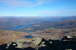 Utstyn mot nord, Førdefjorden og Ålfotbreen - Foto: Jan Roar Sekkelsten