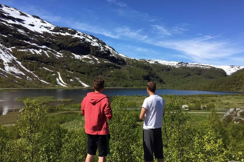 Østerbø i Aurlandsdalen