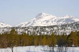 Utsikt til Snota fra Trollheimshytta - Foto: Marie Brøvig Andersen