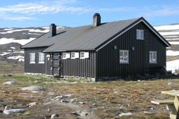 Hovedhytta ved Reinheim  -  Foto: Line Håkensen