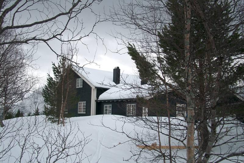 Vinter ved Skorgedalsbu