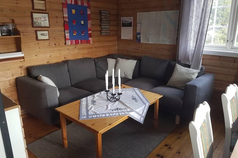 Ny sofa på Nutevasshytta