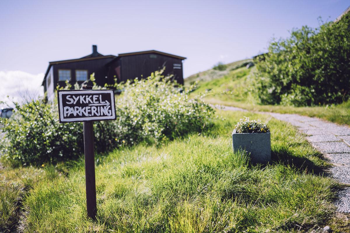 Kalhovd er et populært reisemål forsykkelturister som ønsker kombinere syklingen med fotturer