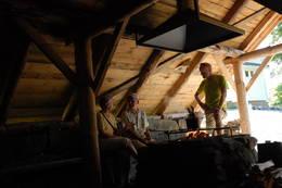 Gaudland Grindabygg med grill - Foto: Kjell Helle-Olsen