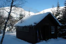 påsketur til Grytadalen, ei DNT hytte uten vinterveg. - Foto: Heidi Glesaaen