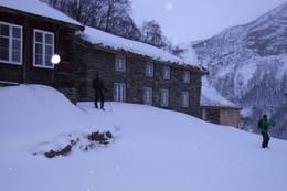 Fuglesteg vinterstid - Foto: Luster Turlag