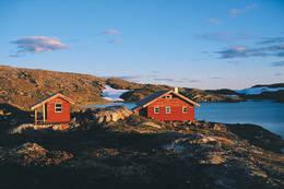 Hytta ved Vassdalstjørn -  Foto: Kjell Helle-Olsen