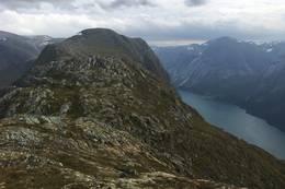 Høgenipa sett frå Skafonnfjellet - Foto: Anne Cecilie Kapstad