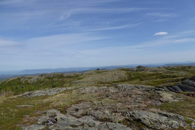 Utsikt fra Baklifjellet