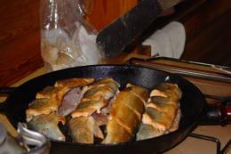 Er fangsten på nattstått bruk god, blir det steikfisk til frokost.  - Foto: Berit Irgens