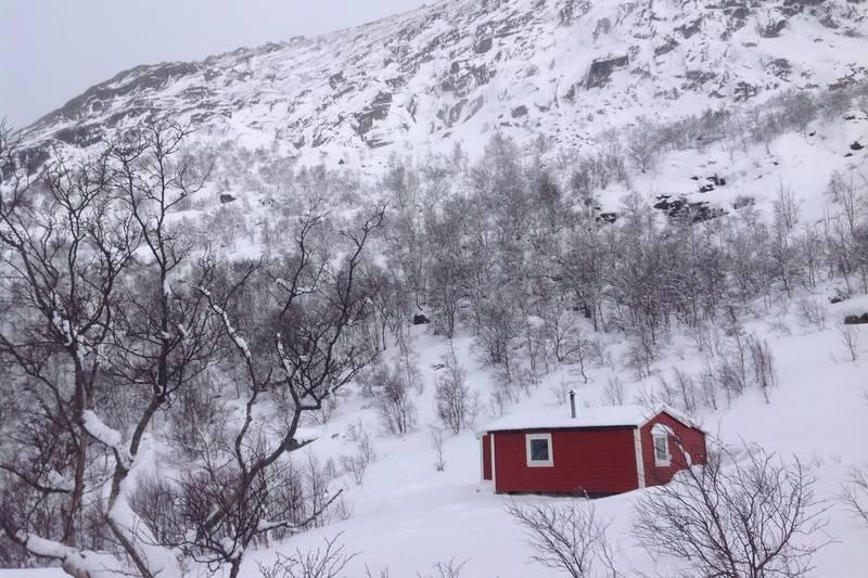 Gamle Skåpet om vinteren