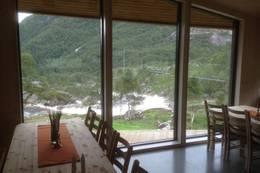 God utsikt fra spisestue på Kvitlen  - Foto: Per Henriksen