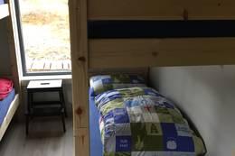 Totalt sengeplass til ti - 3 soverom. - Foto: