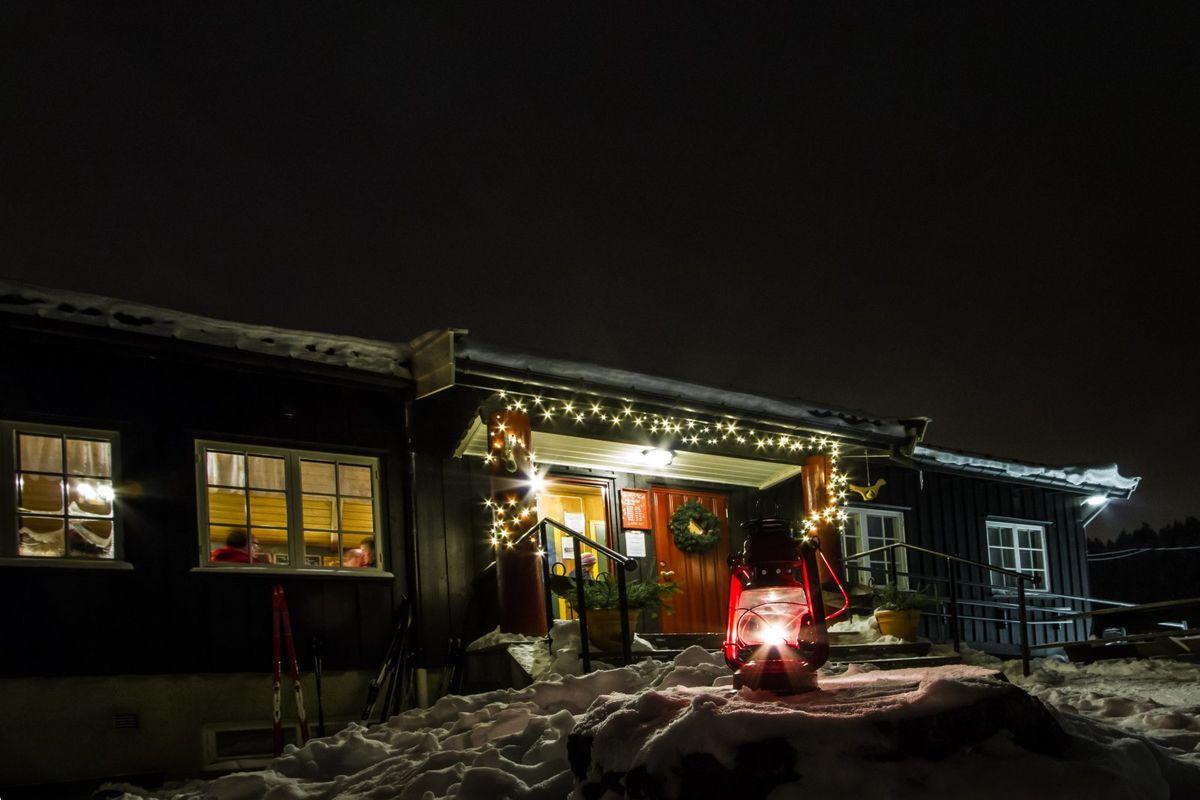 Vinterkveld på Mariholtet