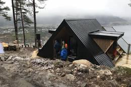 Opning av dagsturhytta på Draumekvila -  Foto: Foto Birthe Fredheim Finstad, Sogn og Fjordane fylkeskommune