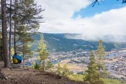 Flott utsikt fra Bringenatten -  Foto: Lars Storheim