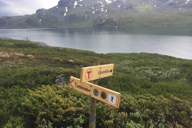 Nytt stikryss på vei mot Torfinnsbu