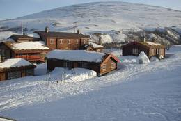 Nydelige vinterforhold på Bjørnhollia - Foto: Ukjent